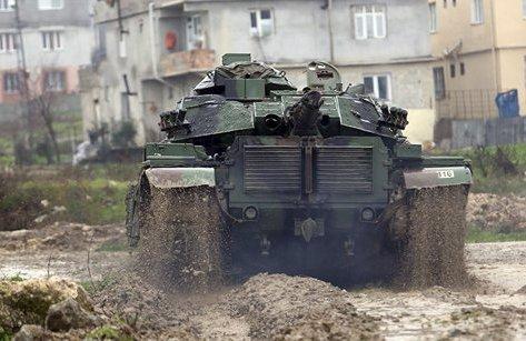 Quân sự - Giao tranh Afrin: Người Kurd Syria buộc quân đội Thổ Nhĩ Kỳ rút lui
