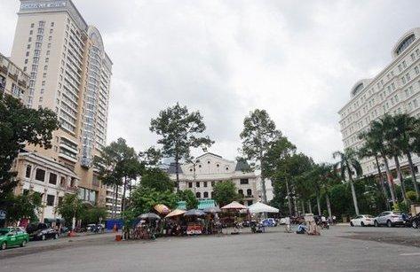 Bất động sản - Đề xuất xây công viên tại bãi xe bị ông Đoàn Ngọc Hải 'trảm'