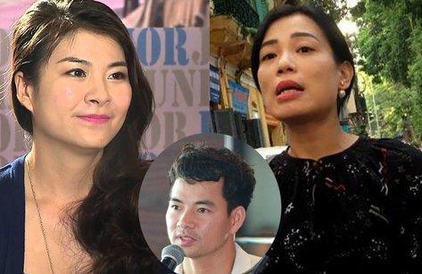 """Xi nhan Trái Phải - Diễn viên Kim Oanh, vợ Xuân Bắc khẩu chiến: 2 đàn bà và """"con vịt"""" facebook"""