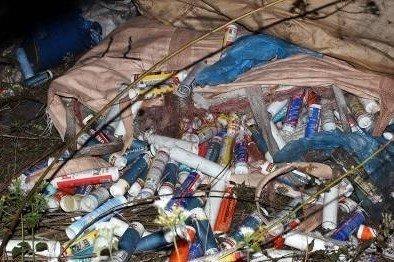 Điểm nóng - Quảng Ninh: Bắt quả tang đối tượng đổ trộm hàng chục tấn rác thải ra môi trường