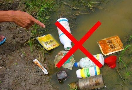 Điểm nóng - Ô nhiễm nguồn nước do thuốc bảo vệ thực vật ở miền núi Quảng Trị