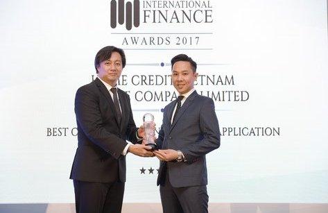 Truyền thông - Home Credit thắng giải ứng dụng tài chính tiêu dùng tốt nhất 2017