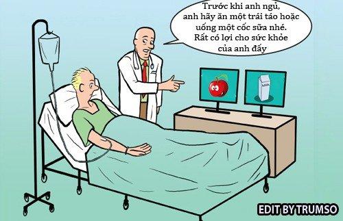 Cộng đồng mạng - Sáng cười: Lời căn dặn của bác sĩ