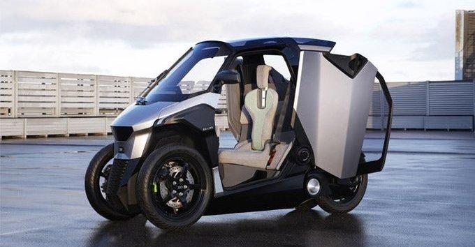 Xe++ - Xe tay ga 3 bánh kì lạ của Peugeot