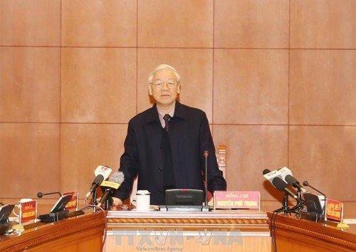 Tin tức - Chính trị - Tổng Bí thư: Tập trung xét xử công minh vụ án Trịnh Xuân Thanh và đồng phạm