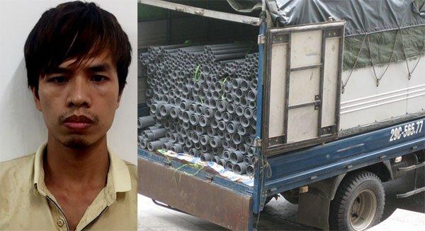 Điểm nóng - Hà Nội: Hàng nghìn ống nhựa mang nhãn mác Tiền Phong bị làm giả