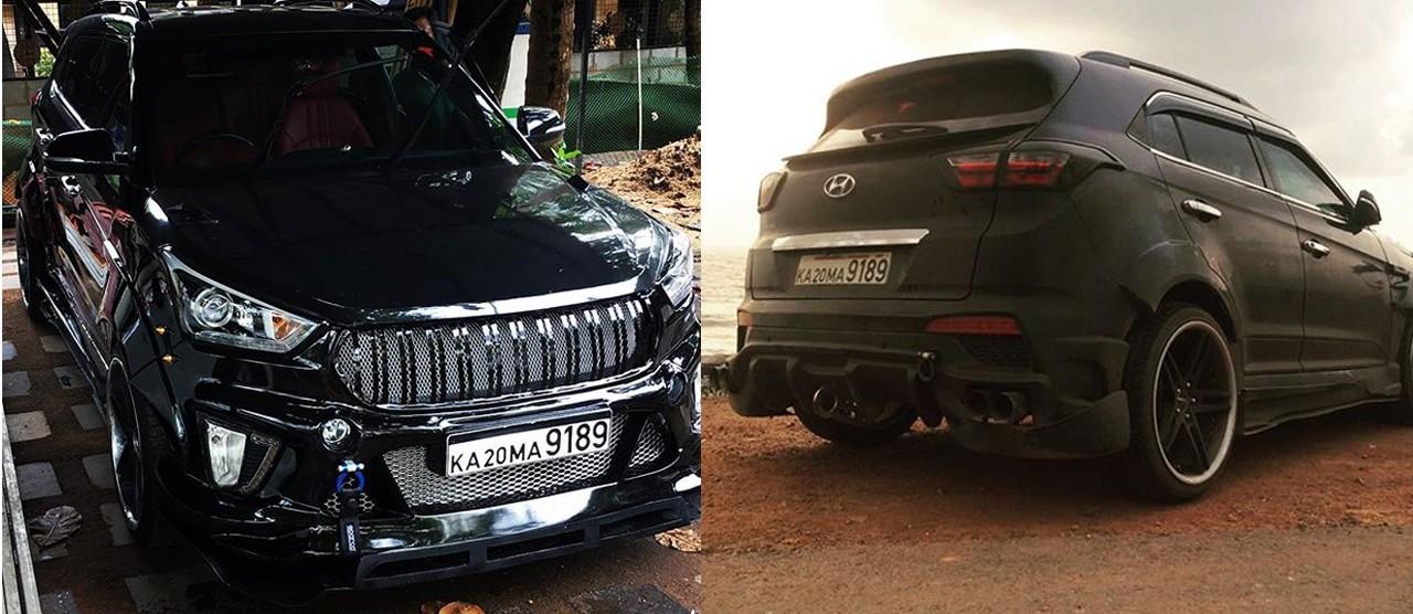Xe++ - Hyundai Creta độ phong cách Mercedes-AMG GT R sẽ như thế nào? (Hình 5).
