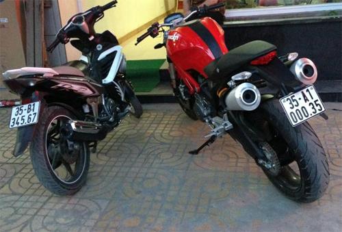 """Thú chơi xe - Dàn """"xế nổ"""" Exciter mang biển khủng của biker Việt (Hình 9)."""