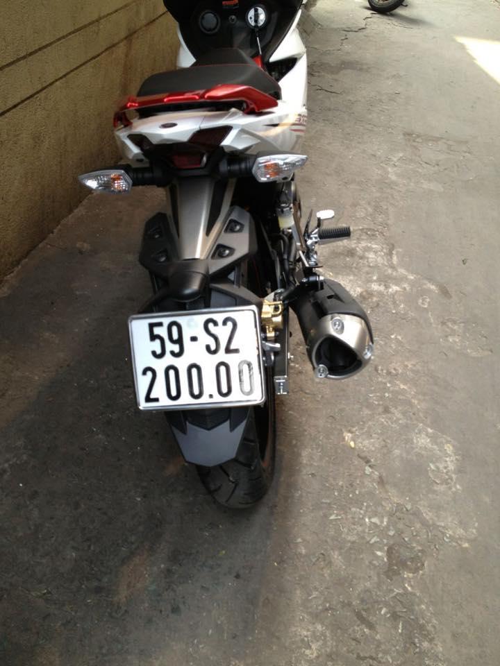 """Thú chơi xe - Dàn """"xế nổ"""" Exciter mang biển khủng của biker Việt (Hình 10)."""