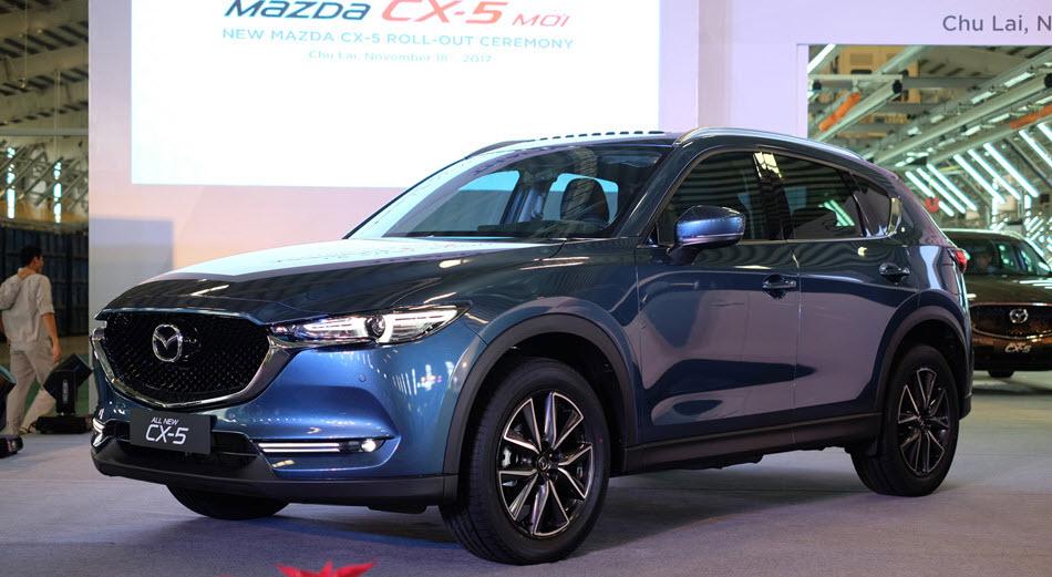 Bảng giá xe - Bảng giá ôtô Mazda tháng 2/2018: Mazda CX-5 2018, bán tải BT-50 tăng mạnh