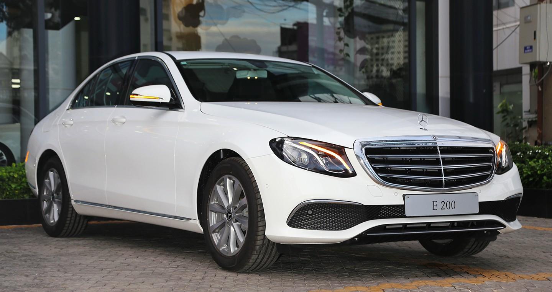 Thị trường xe - Mercedes-Benz nâng cấp E200 2018, giá bán không đổi 2,1 tỷ đồng