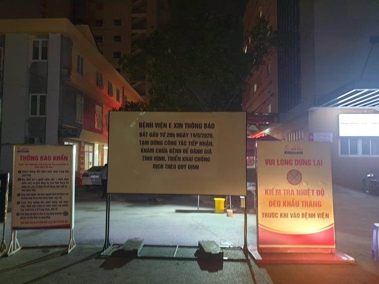 Tin nhanh - Hà Nội: Phong tỏa bệnh viện E trong đêm vì có ca mắc Covid-19 (Hình 5).