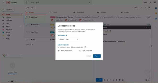 Sản phẩm - Gmail sắp không cho chuyển tiếp email vào tài khoản khác