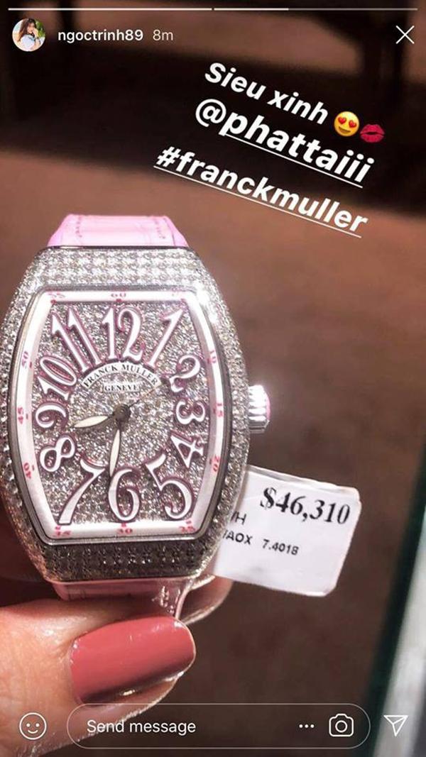 Ngôi sao - Choáng với bộ sưu tập đồng hồ tiền tỷ của ''Nữ hoàng nội y'' Ngọc Trinh (Hình 8).