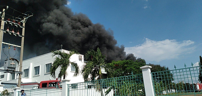 Dân sinh - Đồng Nai: Cháy lớn tại Công ty Hóa chất Ariang Chemical (Hình 2).