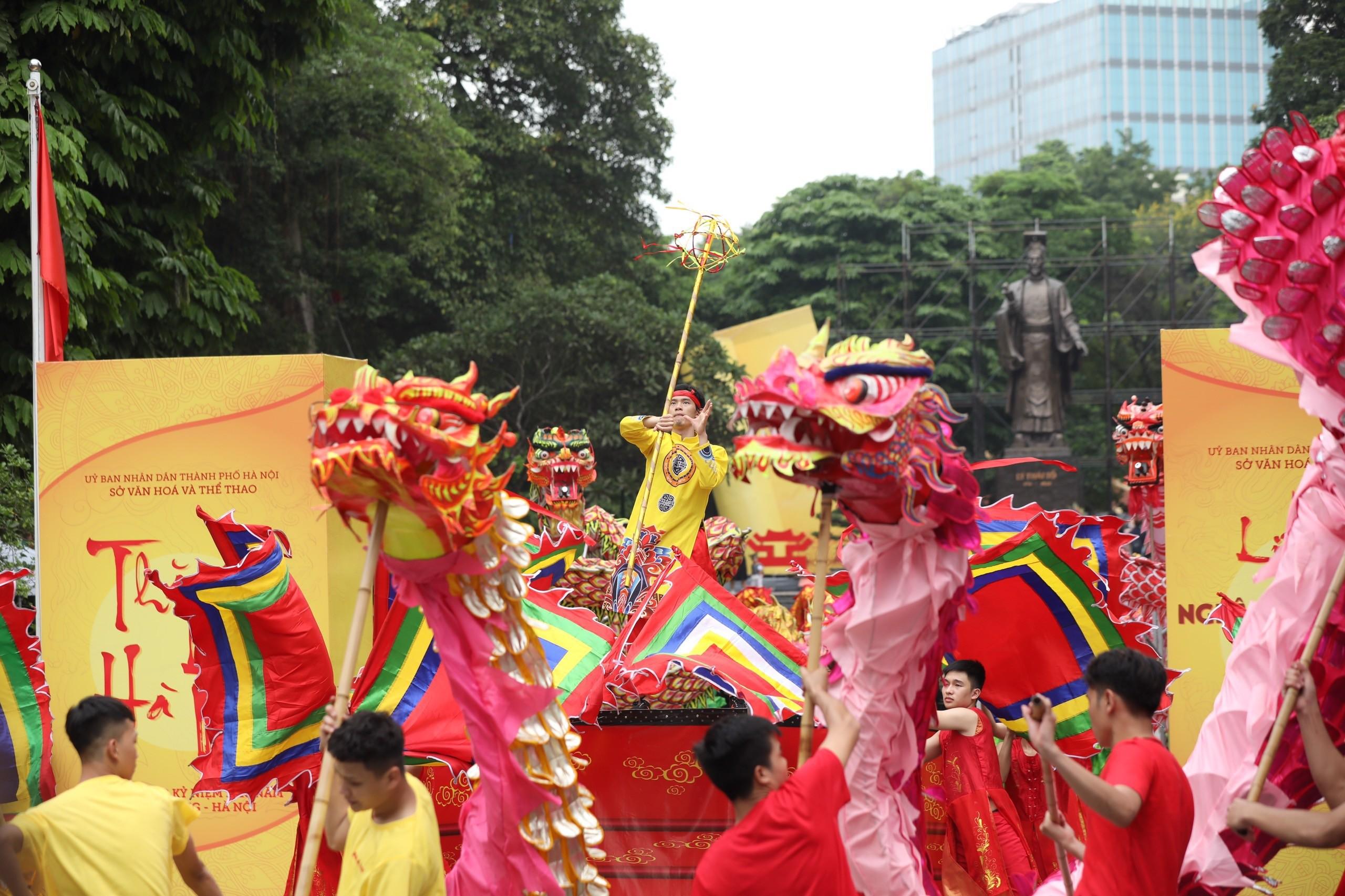 Văn hoá - Mãn nhãn Liên hoan nghệ thuật múa Rồng chào mừng kỷ niệm 1010 năm Thăng Long - Hà Nội (Hình 5).