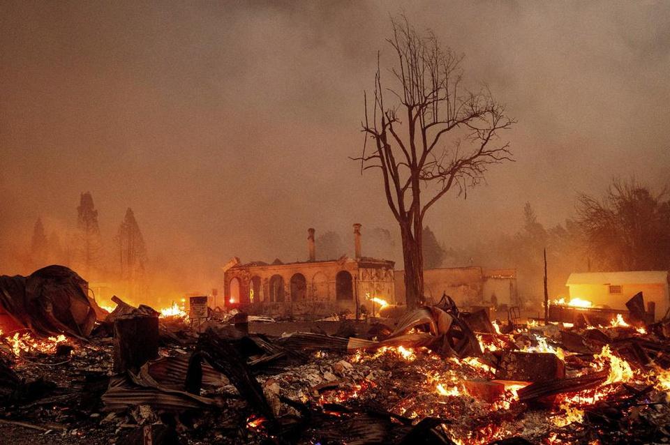 Đời sống - Vùng đất vàng ròng chìm trong bão lửa