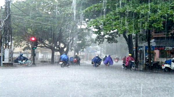 Xã hội - Dự báo thời tiết 29/8/2021: Miền Bắc mưa rất to, khả năng xảy ra lốc