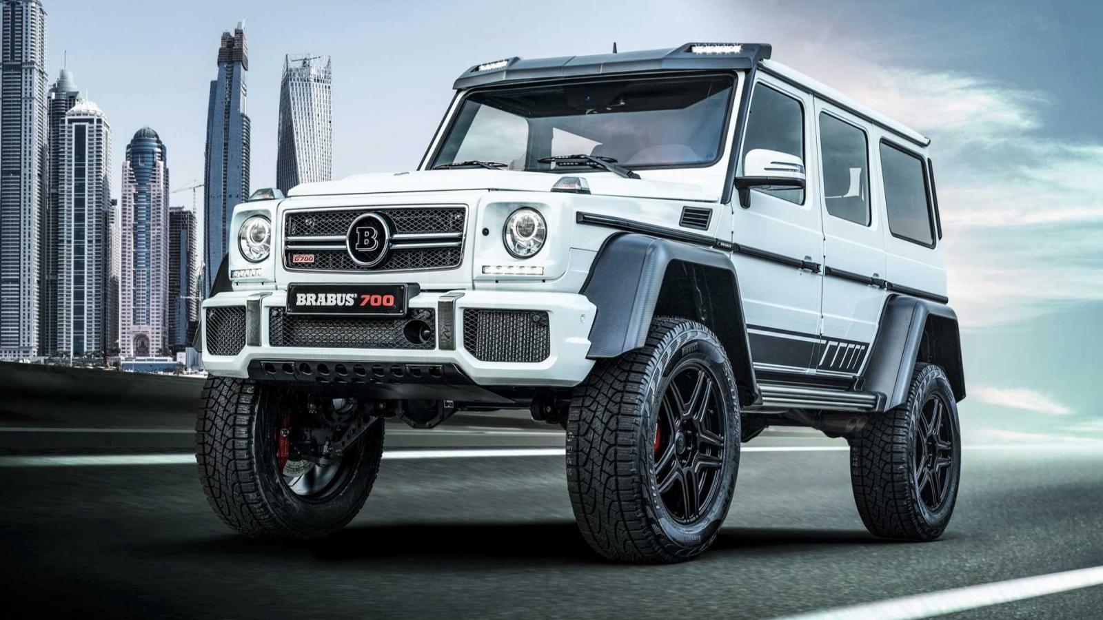 Thú chơi xe - 'Quái vật' Brabus 700 cực mạnh 'gột' từ Mercedes-AMG G63
