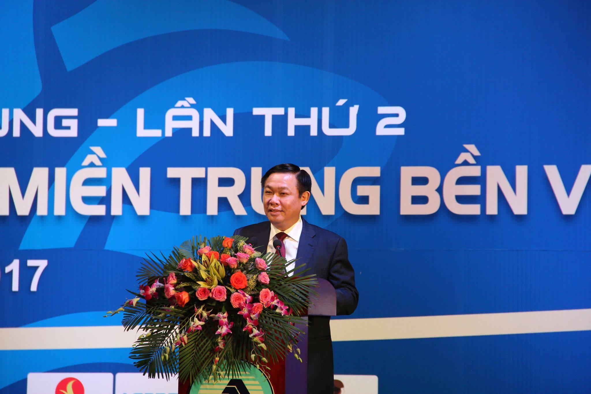 Xã hội - Phó Thủ tướng Vương Đình Huệ: Hy vọng miền Trung phát triển đột phá