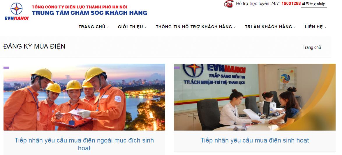 Kinh doanh - EVN HANOI cung cấp dịch vụ điện trực tuyến (Hình 3).