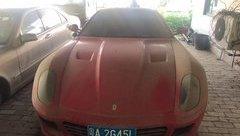 Sau vô lăng - Giật mình siêu xe Ferrari 599 GTB được bán chưa tới 6 triệu đồng