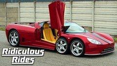 Thú chơi xe - Siêu xe 6 bánh, hơn 15 tỷ đồng, đẹp lạ cuối cùng cũng lăn bánh trên đường