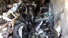 Sau vô lăng - Siêu xe Porsche Taycan bốc cháy và nổ tung, nghi ngờ do pin