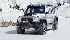 """Thị trường xe - """"Khủng long"""" bán tải Brabus 800 Adventure XLP độ từ AMG G63, giá lên đến gần 17 tỷ đồng"""
