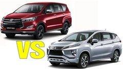 Đánh giá xe - So sánh Mitsubishi Xpander và Toyota Innova