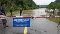 Tin nhanh - Nghệ An: Các huyện miền núi ngập cục bộ do ảnh hưởng của bão số 4