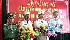 Chính trị - Đà Nẵng có thêm 2 Phó Giám đốc Công an