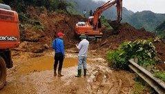 Tin nhanh - Hoà Bình: Di dân ra khỏi khu vực có nguy cơ sạt lở do cơn bão số 4