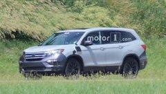 Thị trường xe - Honda Pilot 2019 - Đối trọng Toyota Prado, Ford Explorer lộ diện
