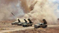 Quân sự - Giữa đêm, quân Chính phủ Syria đột kích dữ dội vào Daraa