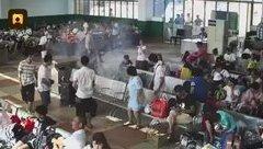 Video - Clip: Điện thoại bỗng dưng bốc cháy, tỏa khói nghi ngút ở ga tàu Trung Quốc
