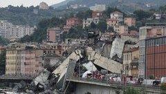 Mới- nóng - Clip: Khoảnh khắc cầu Morandi ở Genoa, Ý sụp đổ giữa bão dữ