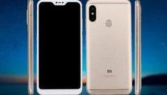 Sản phẩm - Redmi 6 Pro lộ ảnh thực tế, vẻ ngoài tương tự iPhone X