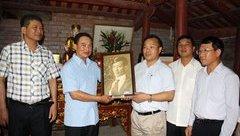 Chính trị - Báo cáo ban Bí thư xin chủ trương tiếp nhận hài cốt cụ Kỳ Đồng Nguyễn Văn Cẩm về nước