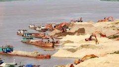 Chính trị - Xử lý nghiêm hành vi khai thác cát trái phép tại Vĩnh Phúc