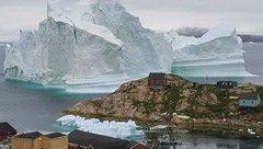 Tiêu điểm - Nguy cơ thảm họa từ tảng băng cao gần 100m trên biển Greenland