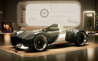 Thị trường xe - Chiêm ngưỡng Toyota E-Racer, mẫu xe đua thực tế ảo cực 'chất'