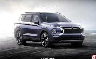 Thị trường xe - Mitsubishi Outlander 2021: Rò rỉ về thiết kế, động cơ và tất cả những gì liên quan
