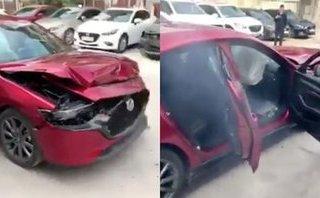Sau vô lăng - Thaco lên tiếng sau sự cố xe Mazda3 thử nghiệm phanh khẩn cấp bị tai nạn