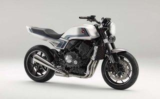 Thị trường xe - Tưởng nhớ mẫu xe huyền thoại CB900F, Honda ra mắt CB-F concept theo phong cách retro
