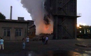 Tin nhanh - 3/4 công nhân đã tử vong sau sự cố cháy tại công ty thép Hòa Phát