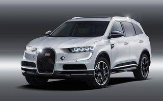 """Thị trường xe - """"Ông hoàng tốc độ"""" Bugatti phiên bản SUV trông sẽ thế nào?"""