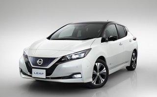 Thị trường xe - Xe điện Nissan Leaf 2018 dát đầy công nghệ, cháy hàng sau 1 tháng mở bán