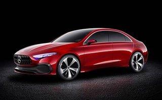 Xe++ - Phiên bản sedan Mercedes-Benz A-Class đẹp từng mi-li-mét lộ diện