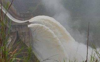Tin nhanh - Nghệ An: Thủy điện Bản Vẽ tăng lưu lượng xả lũ gấp 3 lần